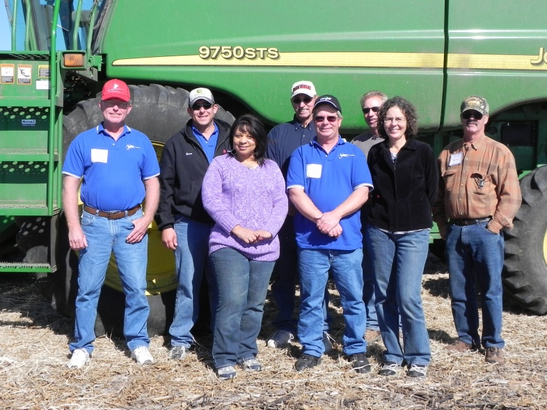Rep Mayfield enjoying time spent with Farm Bureau Group
